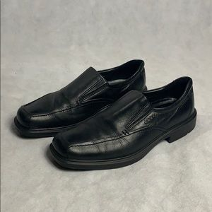 Ecco Genuine Leather Dress Shoes Mens 10.5 US